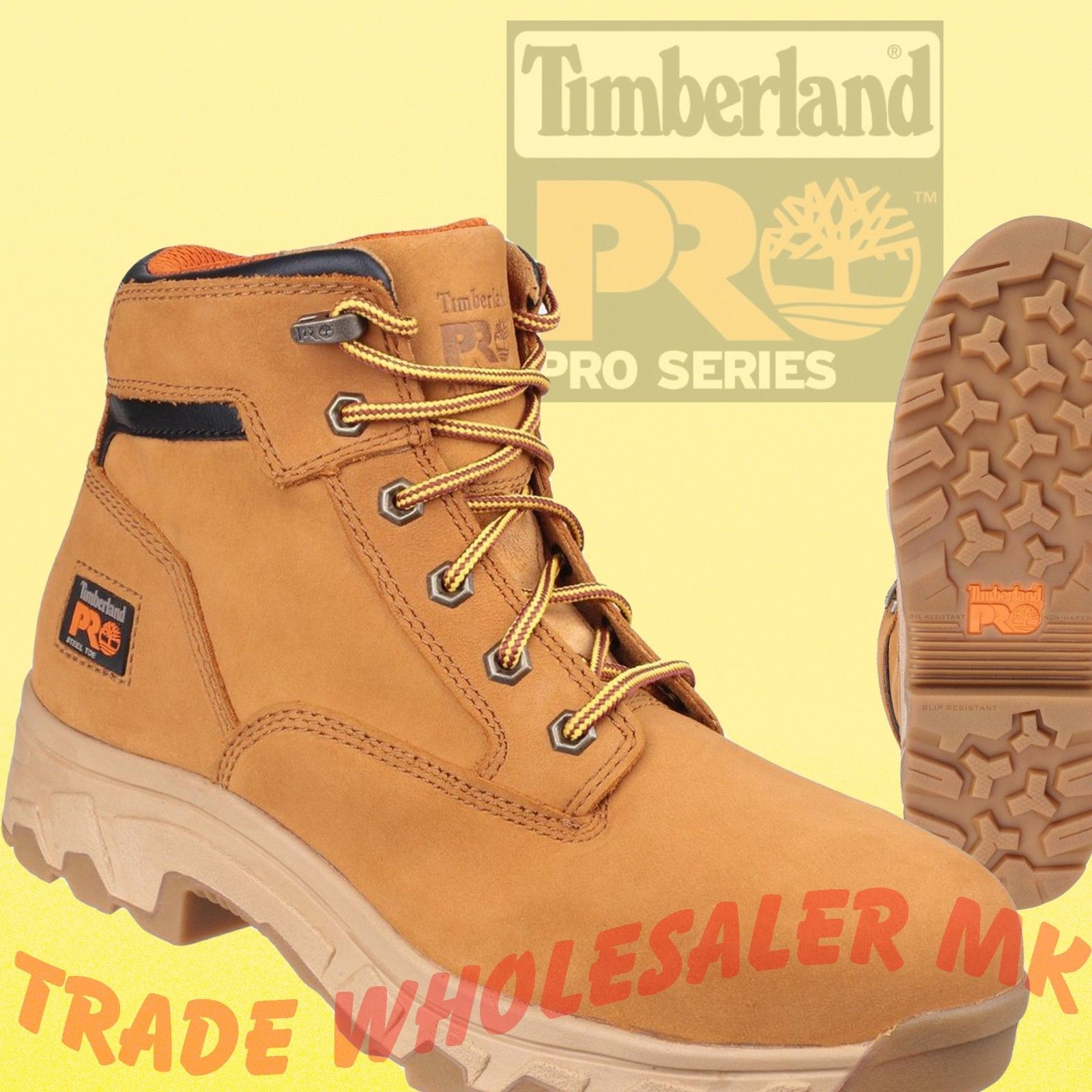 d2dee71513a Timberland Pro Safety Boots Hiker Honey Workstead Wheat UK 6-12