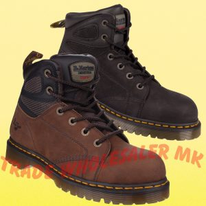 8eeff4d15b0 City Knights Leather Steel Toe Cap Slip on Safety Shoes Smart Office ...