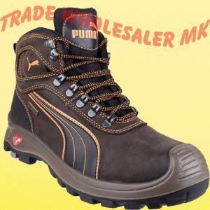39846c14305 AMBLERS DEALER CHELSEA STEEL TOE CAP SKIPTON SAFETY WORK BOOTS BROWN ...
