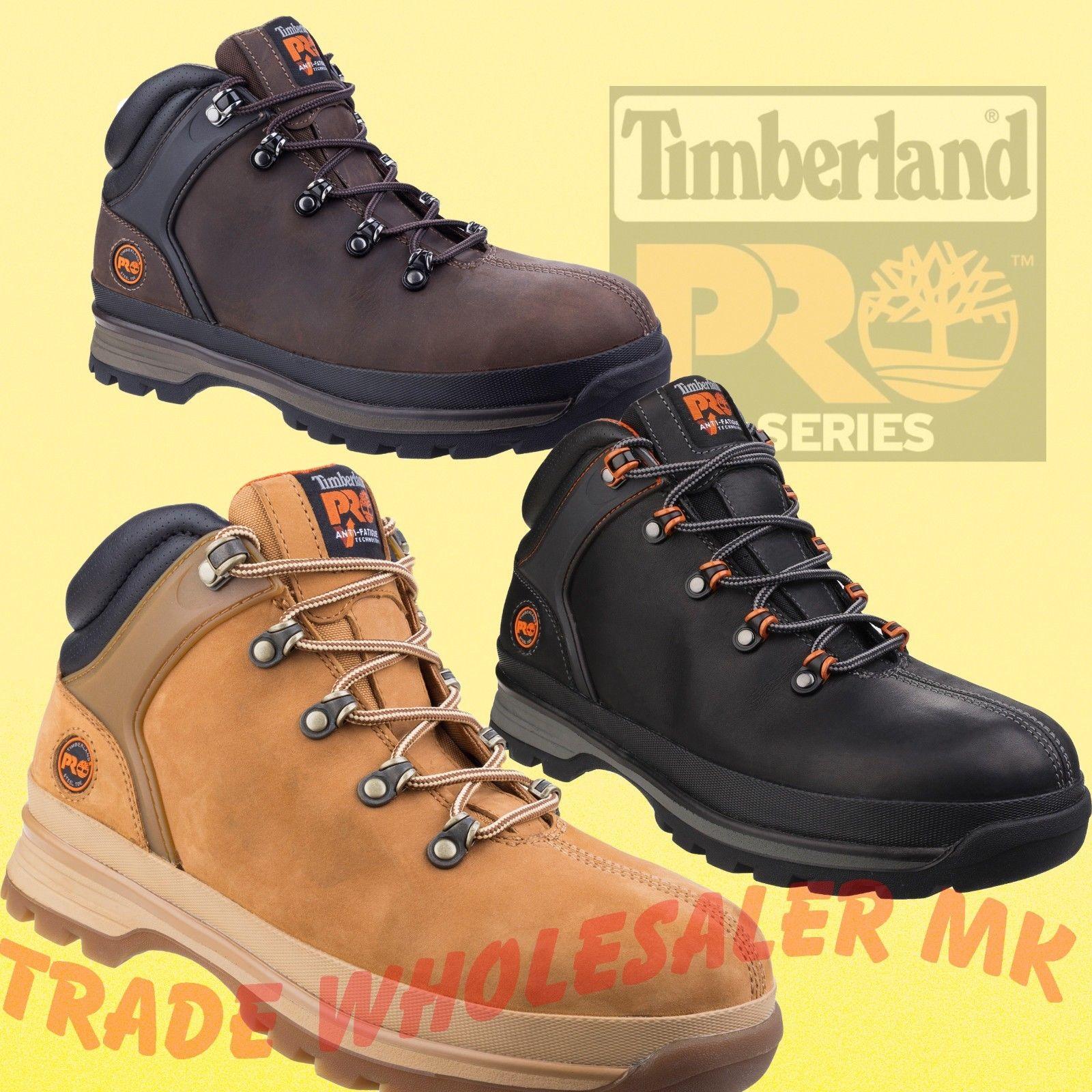 2ef9252e905 Timberland Pro XT Splitrock XT Work Safety Boots Hiker Black, Gaucho, Wheat