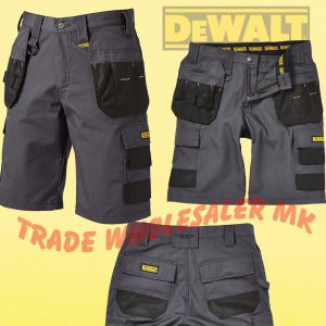3a1d445bb0 DeWalt Pro CARGO SHORTS WORK MULTIPOCKET CHEVERLEY TRADESMAN PRO SHORTS