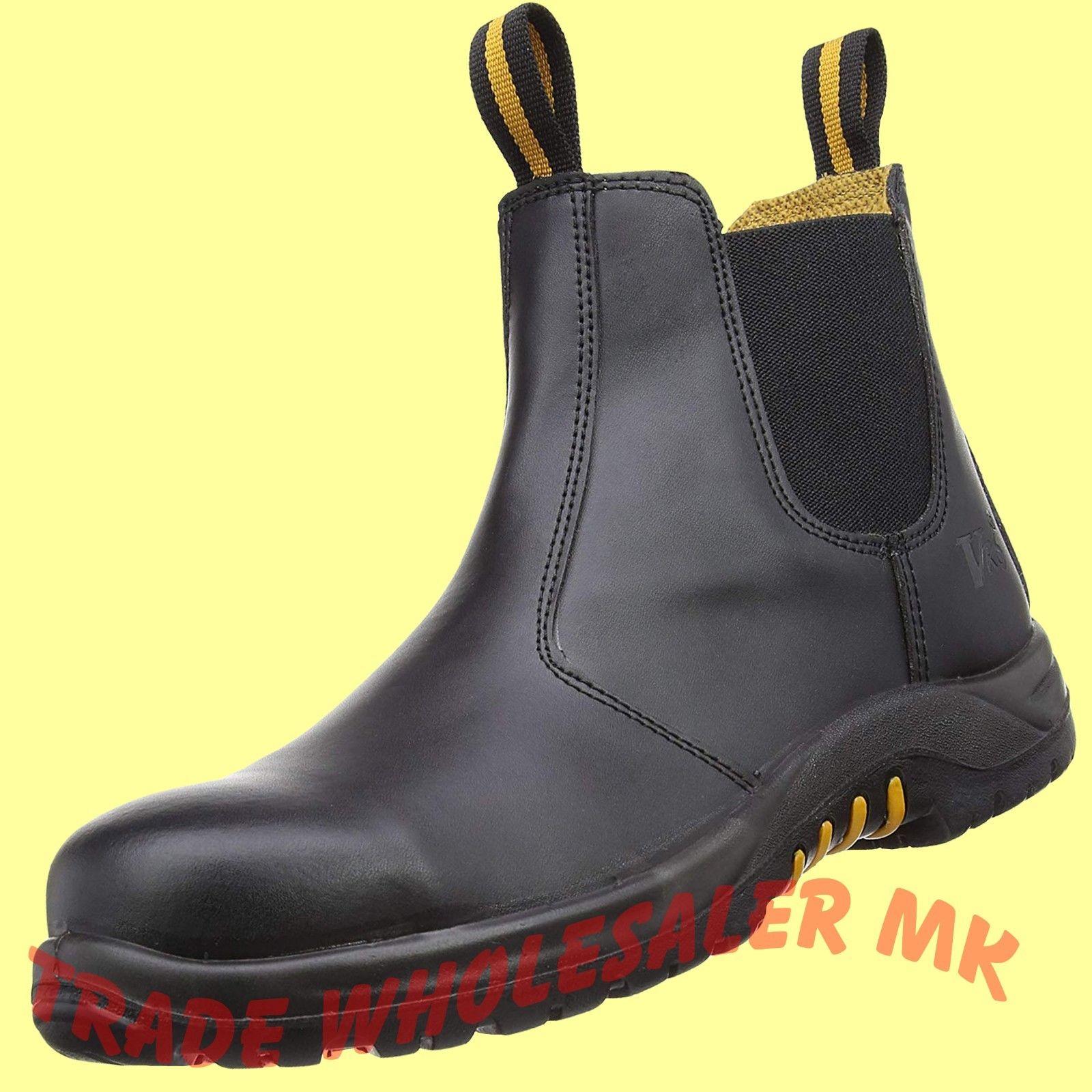V12 Colt Dealer Chelsea Steel Toe Cap Safety Work Boots