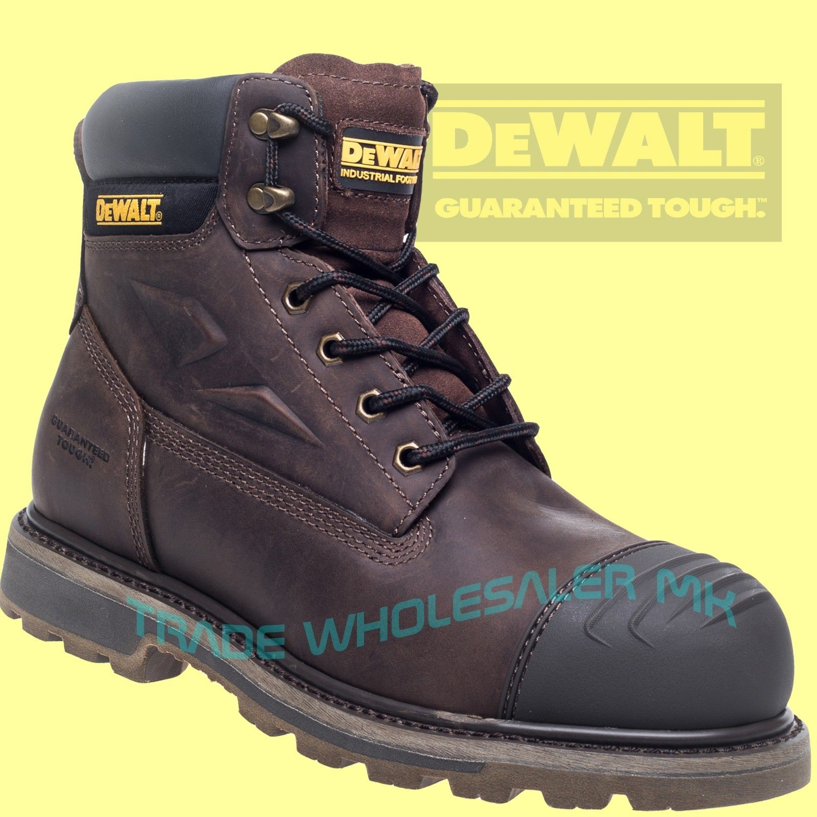 DeWalt Safety Boots Steel Toe Houston Work Boots UK sizes 5-13 ... e6f701453
