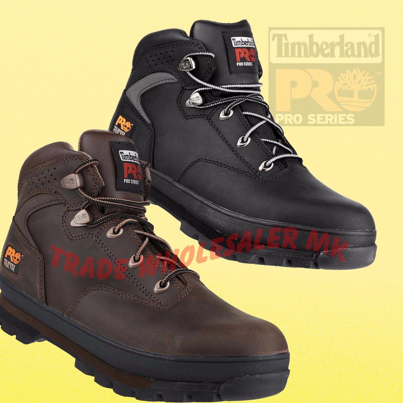 Timberland Pro Steel Toe Work Safety