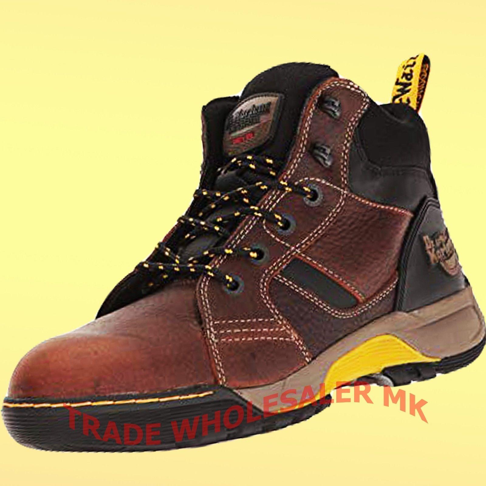dr martens steel toe cap shoes
